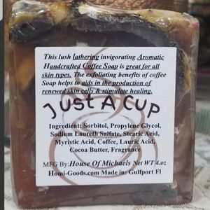 Handcrafted Coffee Soaps